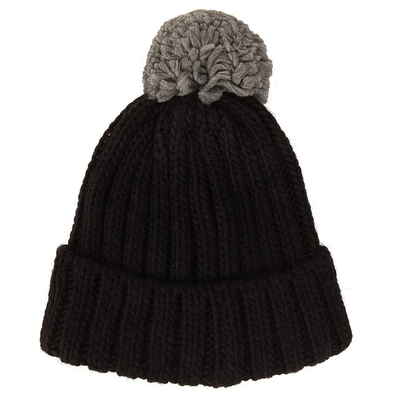 Colmar Mens Blue Bobble Hat main image