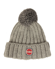 Colmar Mens Grey Bobble Hat