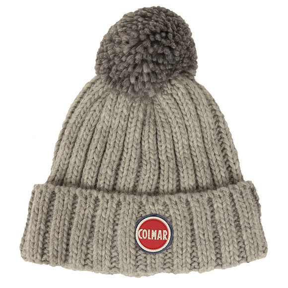 Colmar Mens Grey Bobble Hat main image