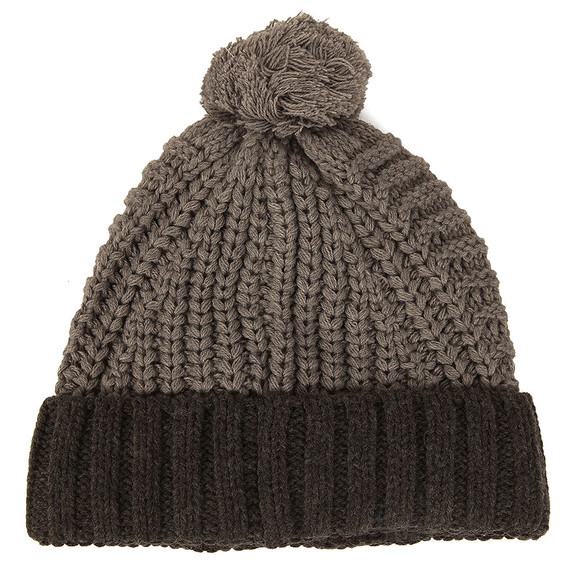 Diesel Mens Grey K-Teen Knitted Hat main image