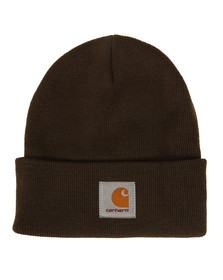 Carhartt Mens Green Short Watch Hat