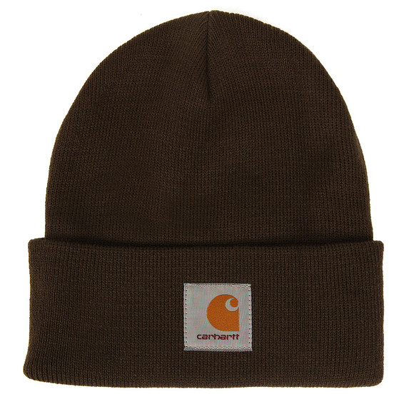 Carhartt Mens Green Short Watch Hat main image