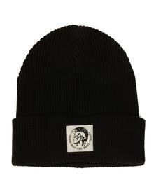 Diesel Mens Black K-Coder Hat