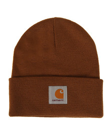 Carhartt Mens Brown Short Watch Hat