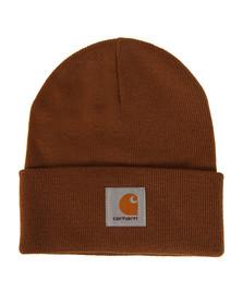 Carhartt Mens Brown Short Watch Hat