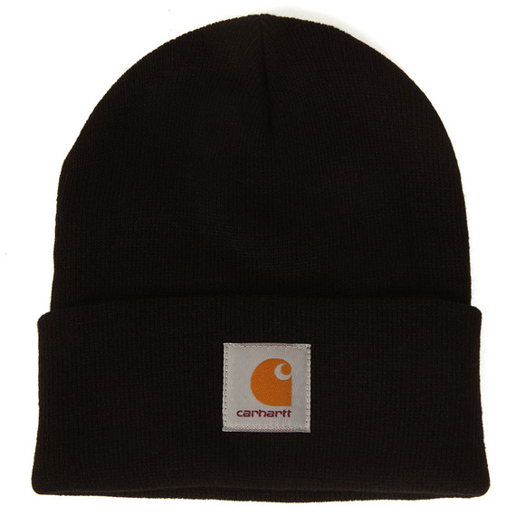 Carhartt Mens Black Short Watch Hat main image