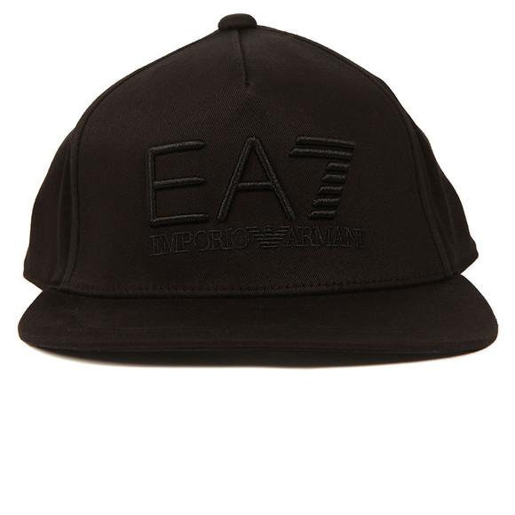EA7 Emporio Armani Mens Black Train Visibility Rapper Cap main image d52322857d06