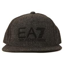 EA7 Emporio Armani Mens Grey Train Visibility Rapper Cap