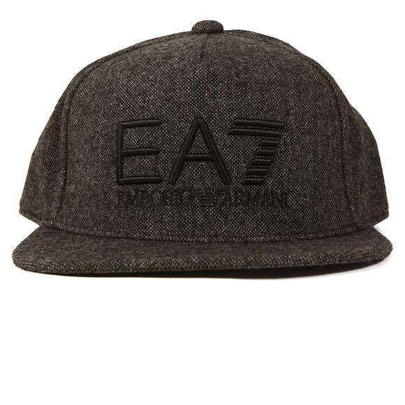 EA7 Emporio Armani Mens Grey Train Visibility Rapper Cap main image
