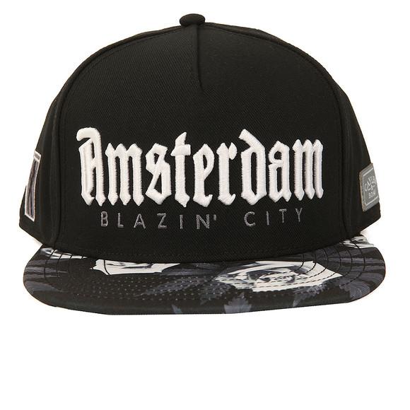Cayler Mens Black Amsterdam Cap main image