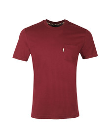Aquascutum Mens Red Wilmslow Classic T-Shirt
