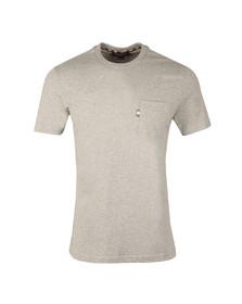Aquascutum Mens Grey Wilmslow Classic T-Shirt