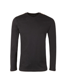 Aquascutum Mens Blue Southport Long Sleeve T-Shirt