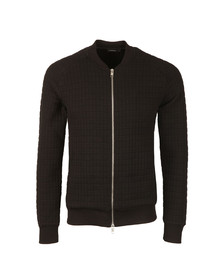 J.Lindeberg Mens Black Crane Quilt Sweat