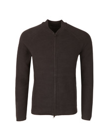 J.Lindeberg Mens Black Trust Zip Compact Cotton Bomber