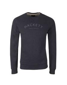 Hackett Mens Blue MR Crew Sweat