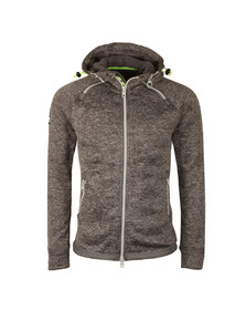 Superdry Mens Grey Storm Double Zip Hood