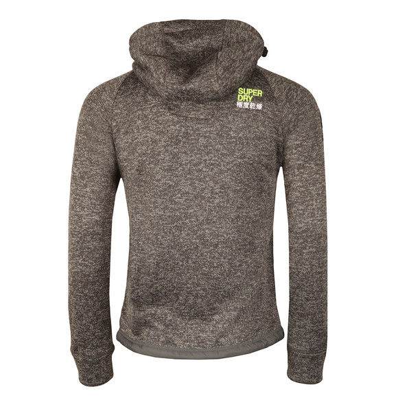 Superdry Mens Grey Storm Double Zip Hood main image