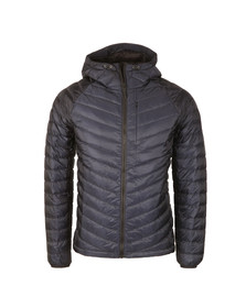 Superdry Mens Blue Micro Quilt Down Hooded Jacket