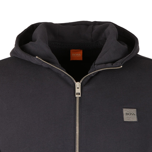 Boss Orange Mens Blue Ztadium Zip Hoody main image