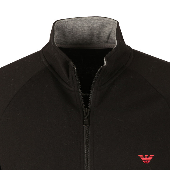 Emporio Armani Mens Black Full Zip Sweat main image