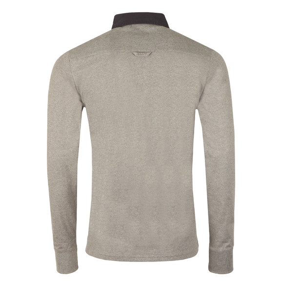 Gant Mens Grey Solid Heavy Rugger main image