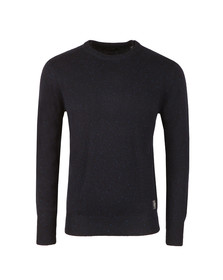 Scotch & Soda Mens Blue Jumper With Coloured Neps