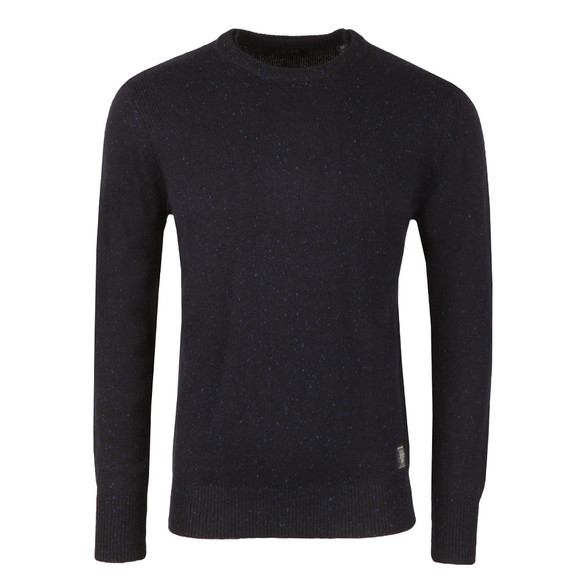 Scotch & Soda Mens Blue Jumper With Coloured Neps main image