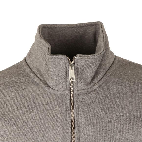 Carhartt Mens Grey Chase Half Zip Sweatshirt main image