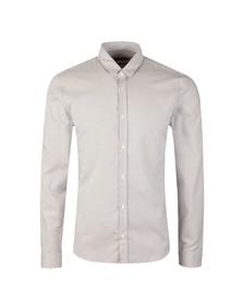 Hugo Mens White Ero 3 Arrow Pattern Shirt