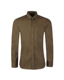 Hugo Mens Green Elisha 01 Slim Shirt