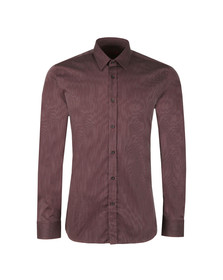 Hugo Mens Red Patterned Elisha 01 Shirt