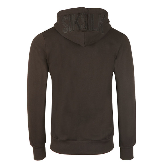 Sik Silk Mens Black Zip Through Hoody main image