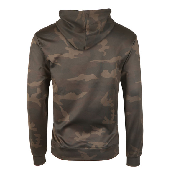 Sik Silk Mens Black Poly Overhead Hoody main image