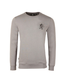 Gym king Mens Grey Crew Sweatshirt