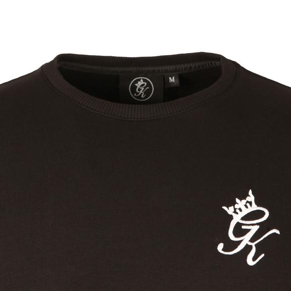 Gym King Mens Black Crew Sweatshirt main image