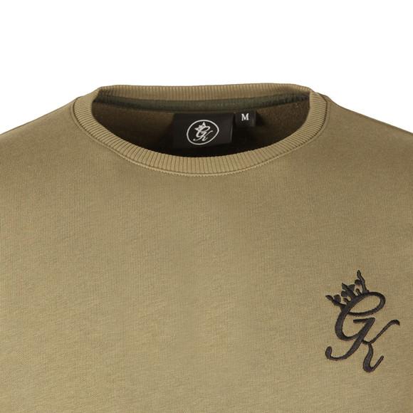 Gym king Mens Green Crew Sweatshirt main image