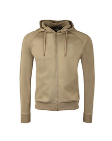 Gym king Mens Beige Poly Track Top