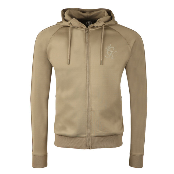 Gym King Mens Beige Poly Track Top main image