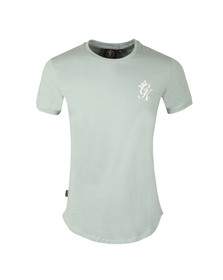 Gym king Mens Blue Core Long Line Tee