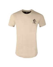 Gym king Mens Grey Core Long Line Tee