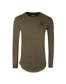 Sik Silk Mens Green Base Layer T Shirt