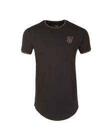 Sik Silk Mens Black Short Sleeve Gym T Shirt