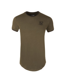 Sik Silk Mens Beige Short Sleeve Gym T Shirt