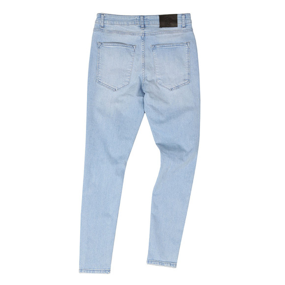 Gym King Mens Blue Denim Distressed Jean main image