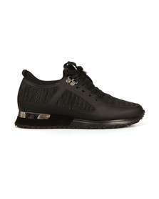 Mallet Mens Black Diver Knit Trainer