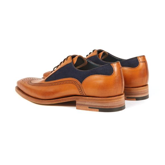 Barker Mens Brown Harding Shoe main image