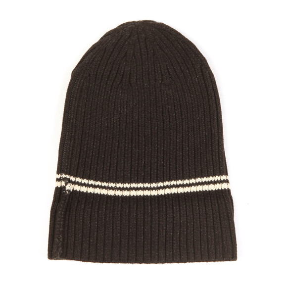 Fred Perry Mens Black 2 Tone Beanie main image