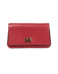 Michael Kors Womens Purple Mott Large Clutch