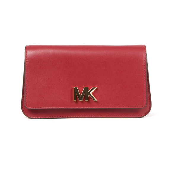 Michael Kors Womens Purple Mott Large Clutch main image